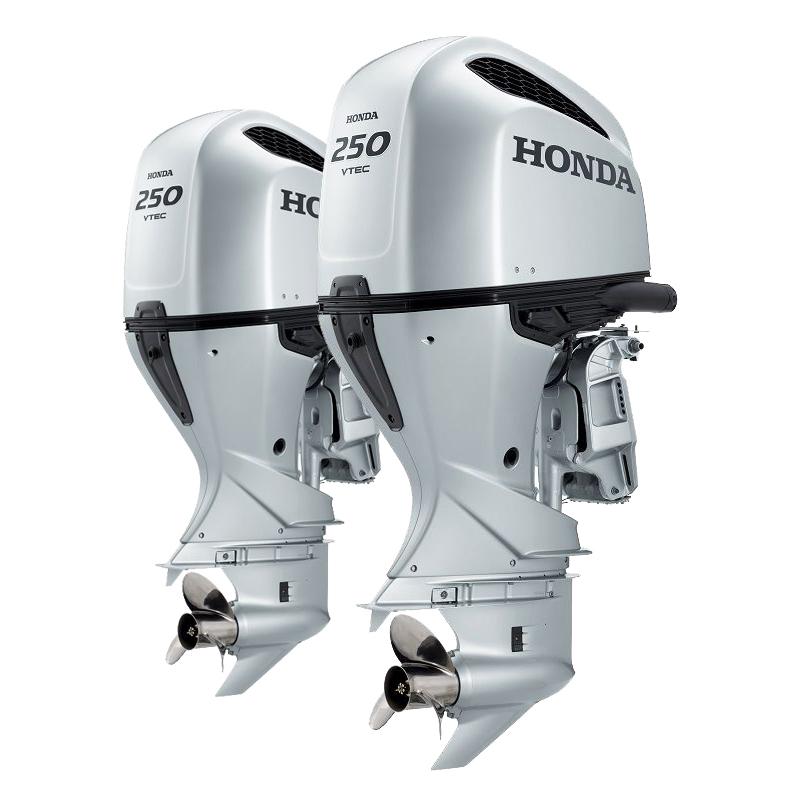 Лодочный мотор  Honda BF250DXDU + DXCDU (спарка)